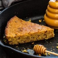 Brown Butter Bacon Cornbread