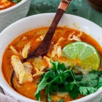 Tom Kha Soup (Thai Chicken and Coconut Soup)