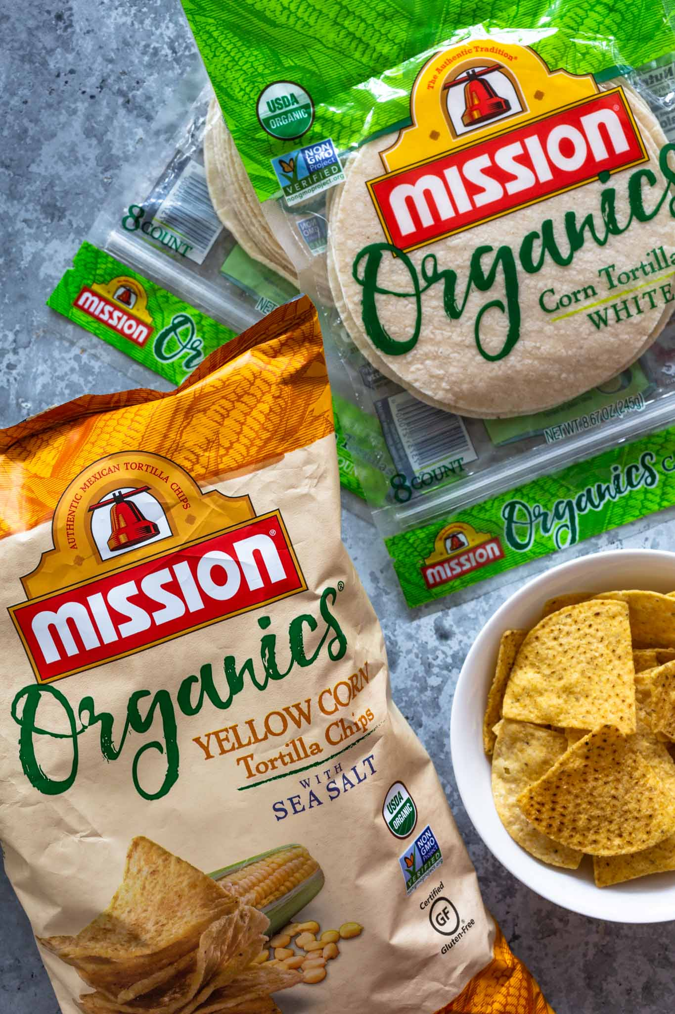 Mission Organics Tortilla Chips