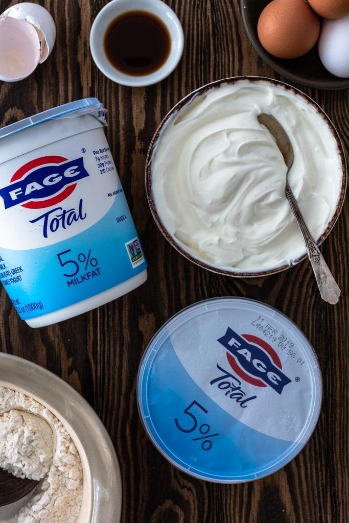 Baking with Greek Yogurt (FAGE)