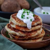 Cheddar Boxty (Irish Potato Pancakes)