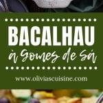 A collage of bacalao photos.