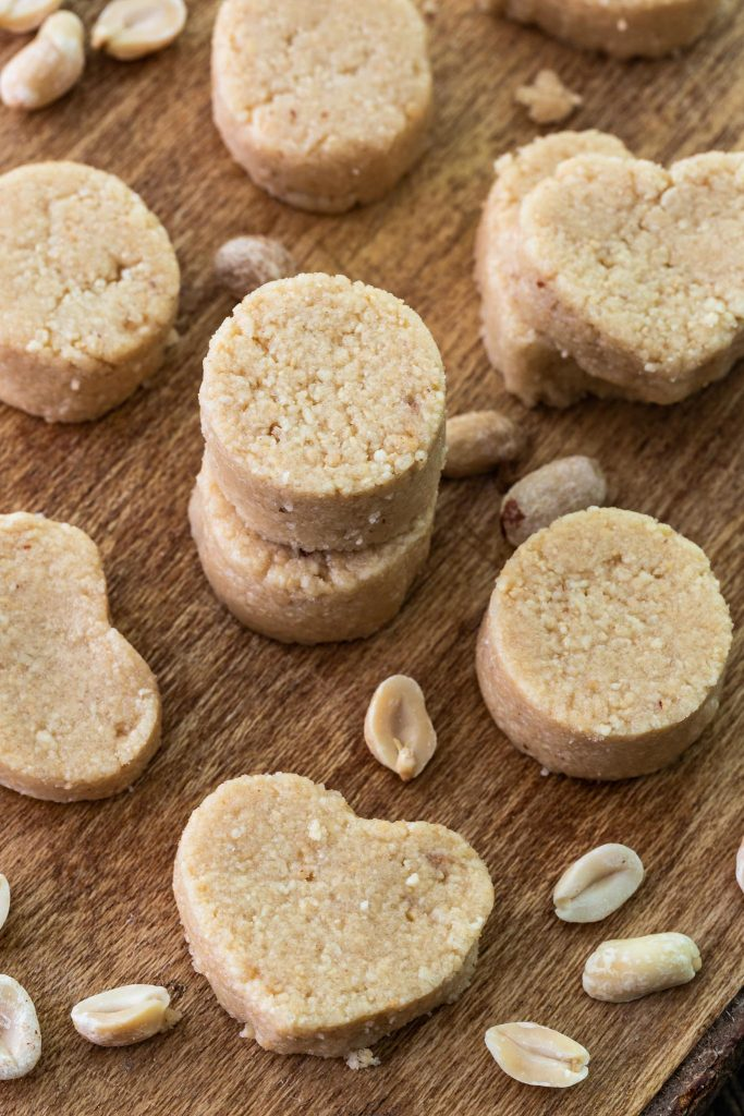 Several Brazilian peanut candies