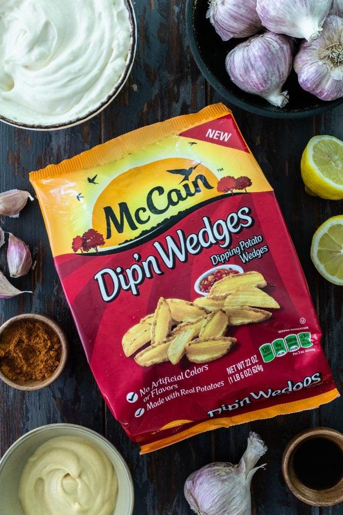 McCain Dip'n Wedges fries