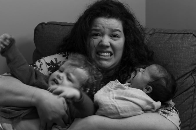 Motherhood chaos!