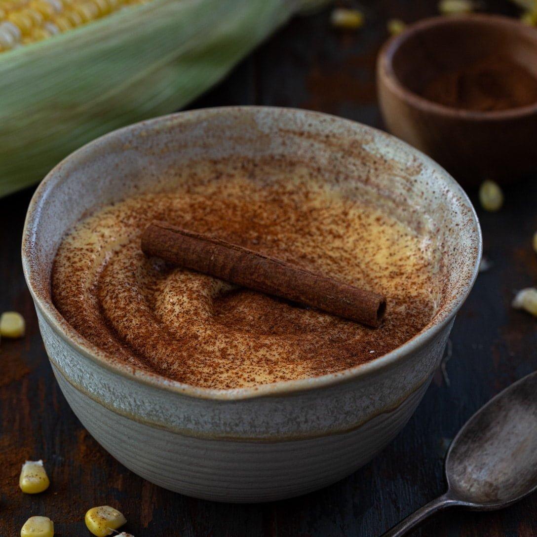 Curau de Milho (Brazilian Corn Pudding)