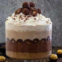 Ferrero Rocher Trifle