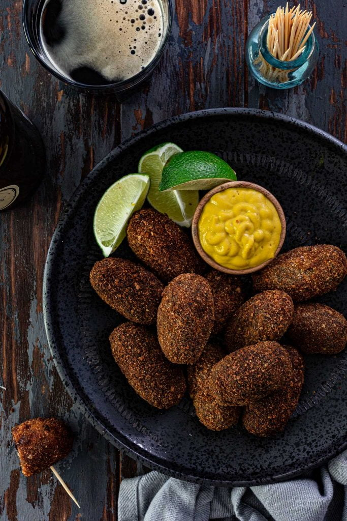 oxtail stew croquettes