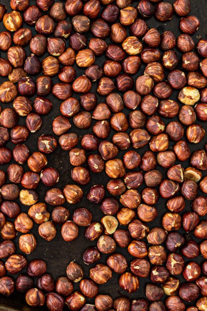 Toasted hazelnuts