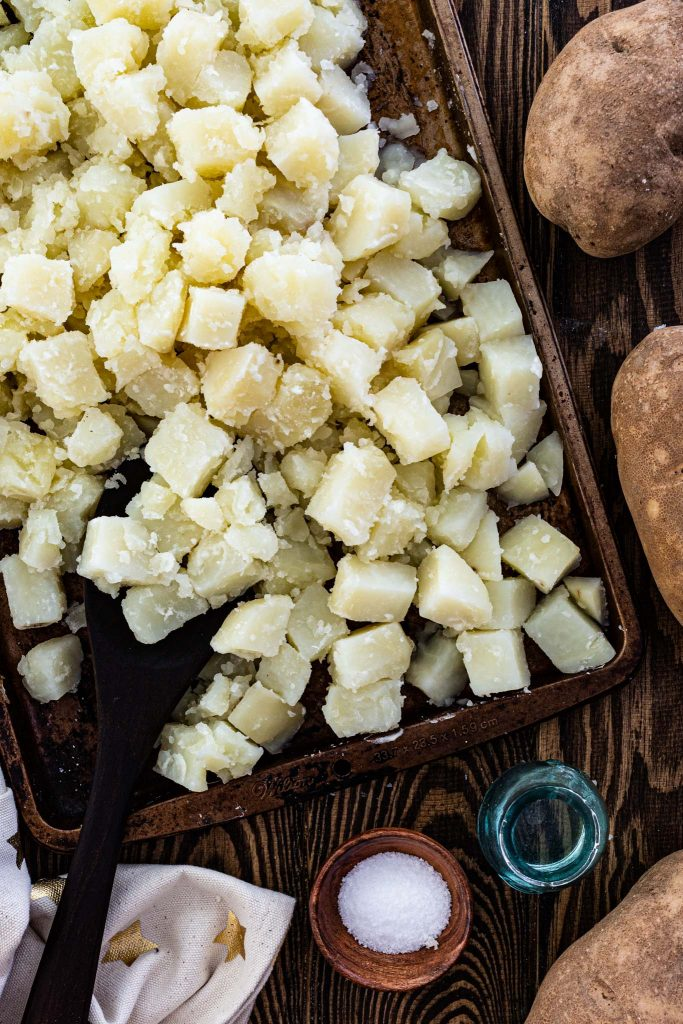 Seasoning potatoes is the secret for the best potato salad