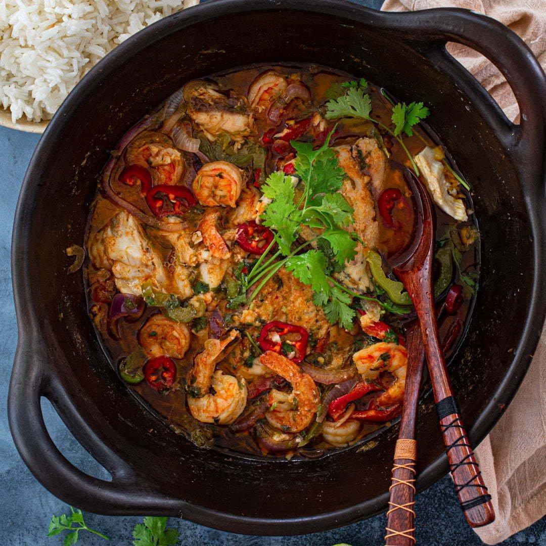 Moqueca Baiana (Brazilian Fish Stew)