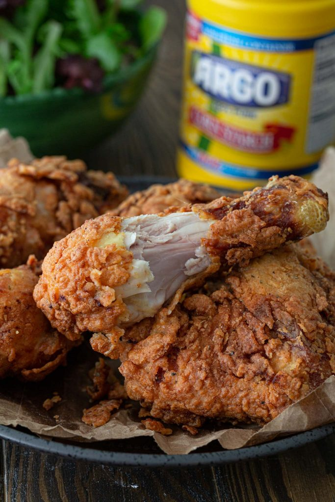 Juicy fried chicken