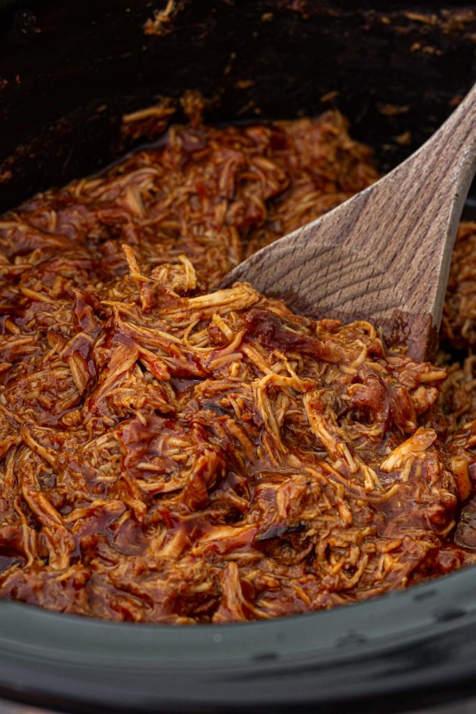 Shredded BBQ Pulled Chicken