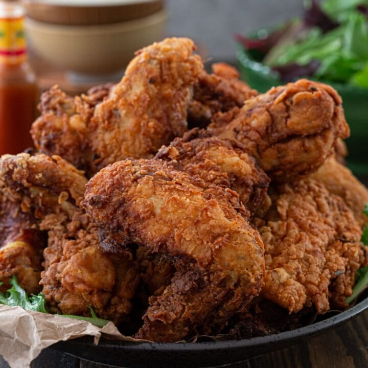 The Crispiest Fried Chicken