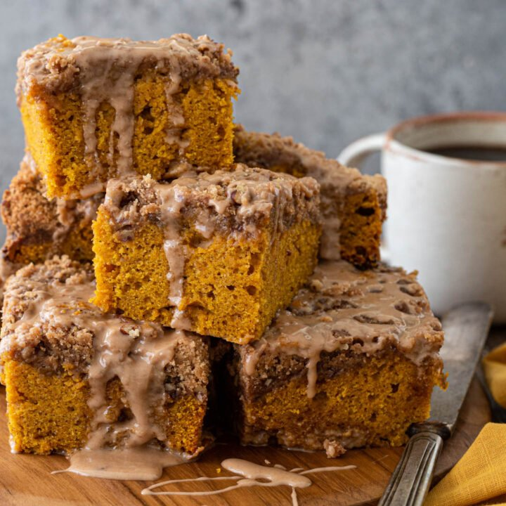 Slow Cooker Pumpkin Coffee Cake