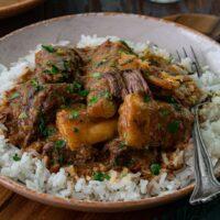 Short Rib Stew with Yuca (Vaca Atolada)
