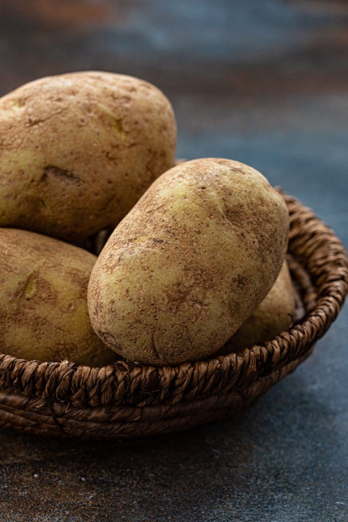 Russet potatoes are the best potatoes for frying.