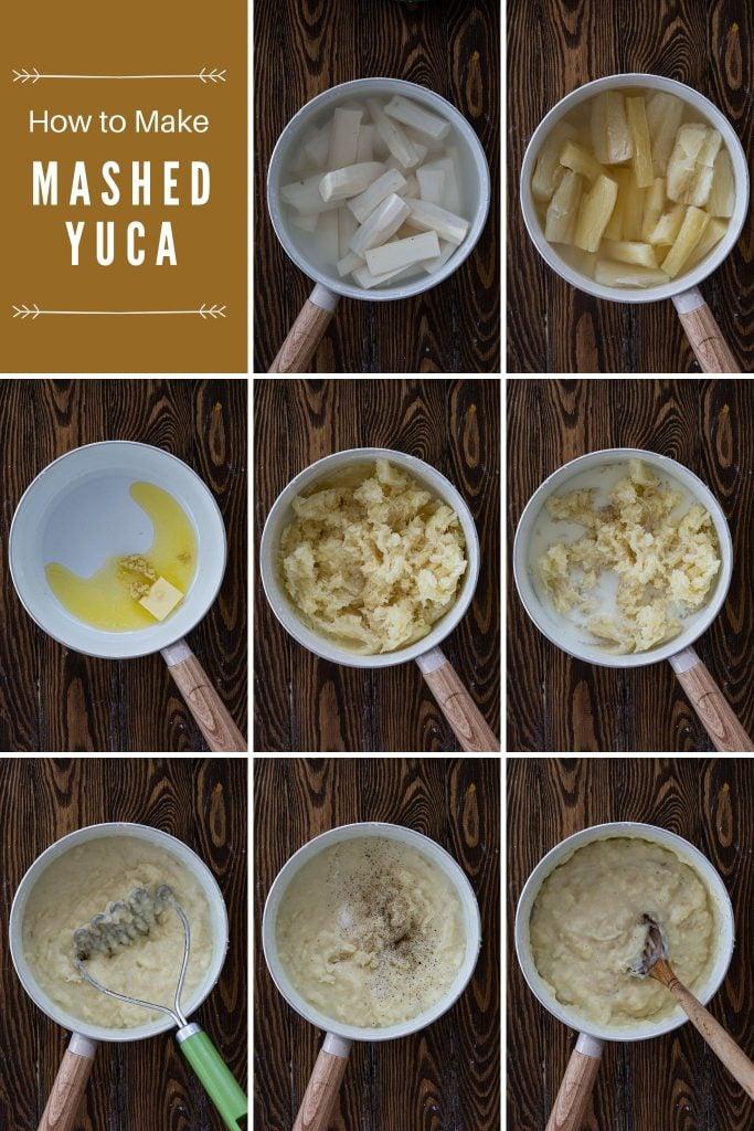 How to make Yuca Mash.