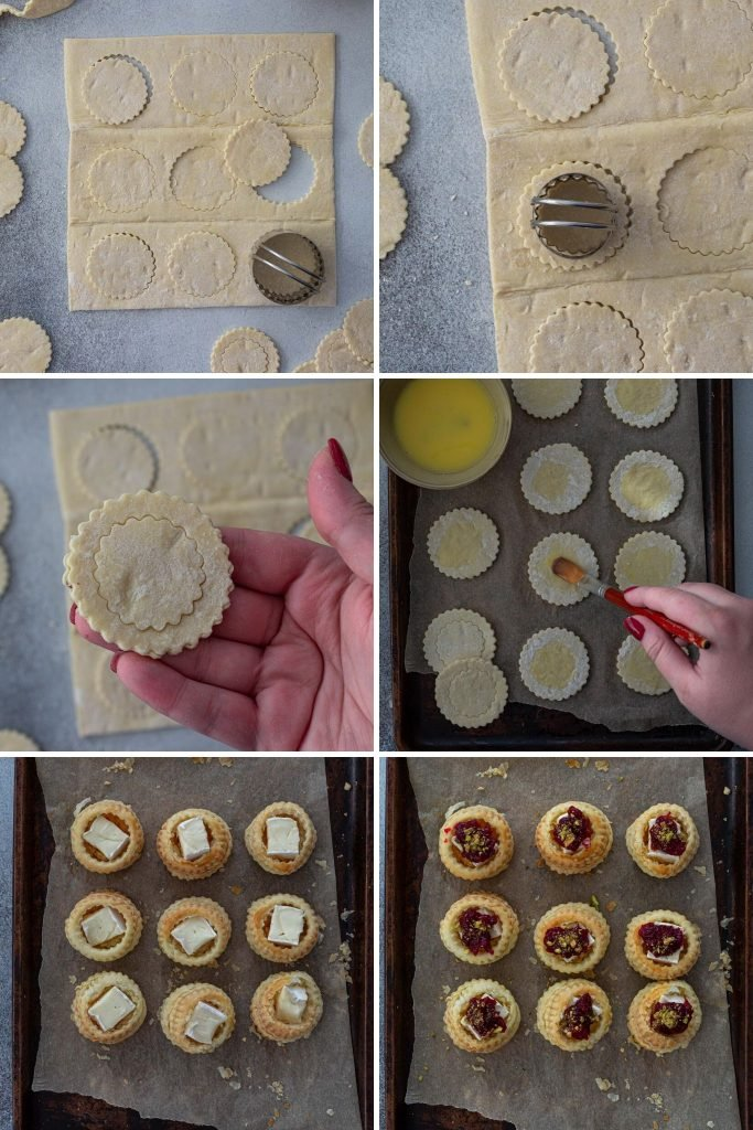 Step by step recipe to make vol au vent