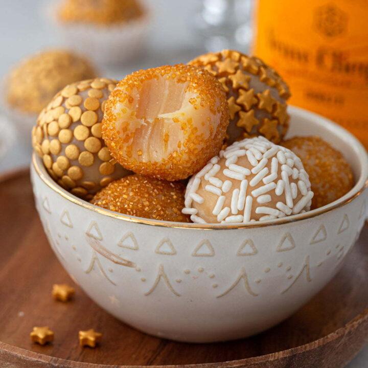 Brazilian Champagne Brigadeiro Recipe Olivia S Cuisine