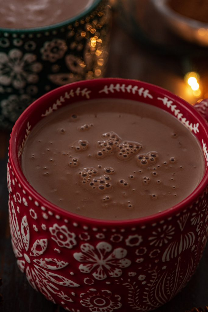 Silky hot chocolate