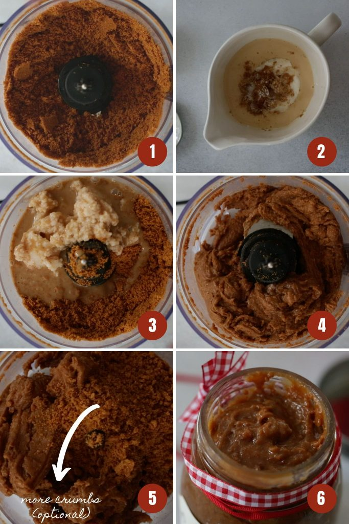 How to make cookie butter.