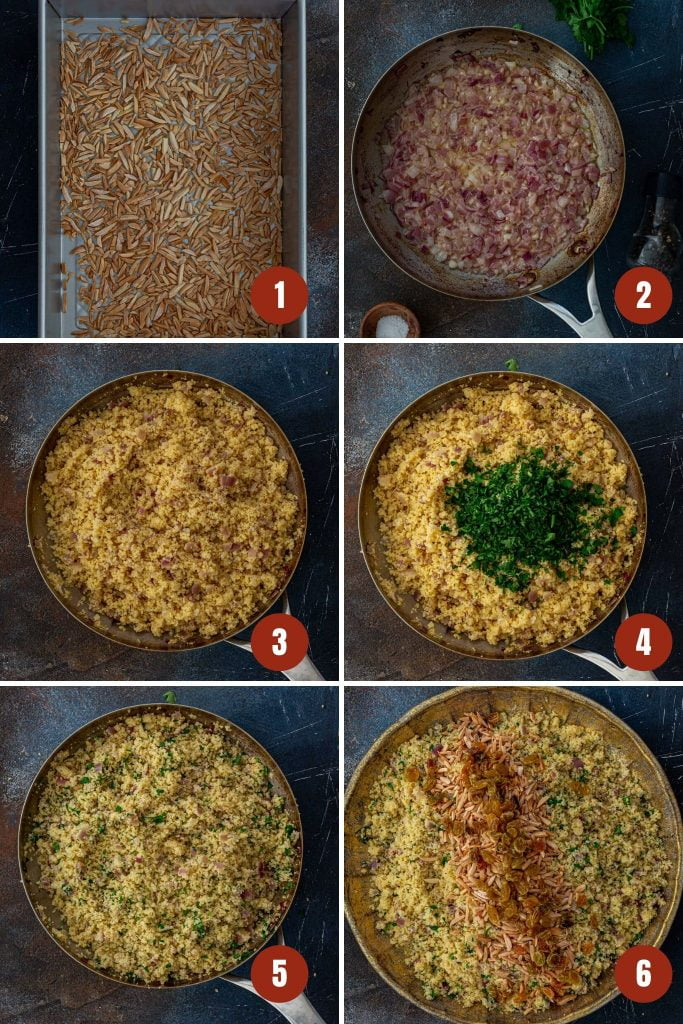 How to make couscous.