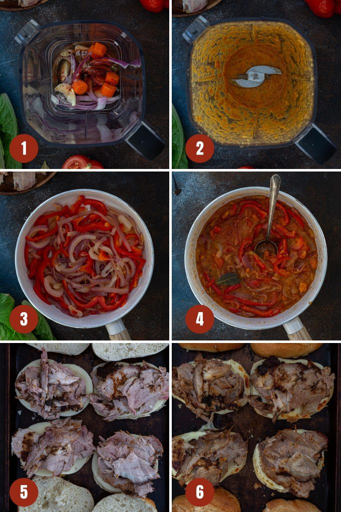 How to make pernil sandwich.