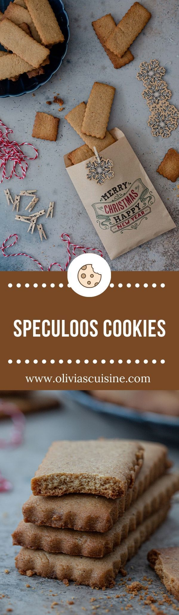 Speculoos Cookies | www.oliviascuisine.com | Speculoos cookies are a must-bake this holiday season! Slightly browned, thin and very crunchy, these spiced cookies are easy to make and even easier to eat. (Follow @oliviascuisine for more delicious recipes.) #speculoos #biscoff #cookies #speculaas #christmas