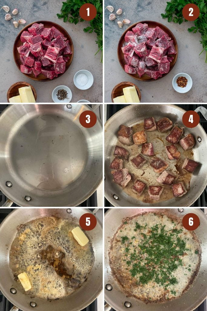 How to make steak bites