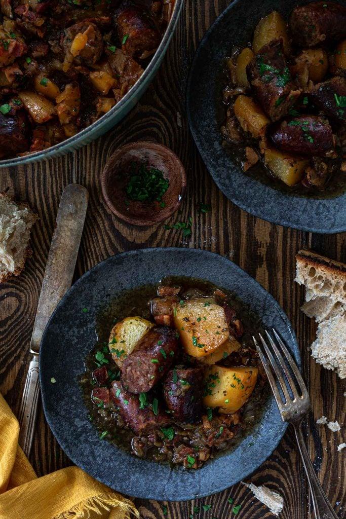 Hearty Irish stew.