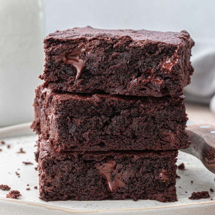 Homemade Fudgy Brownies