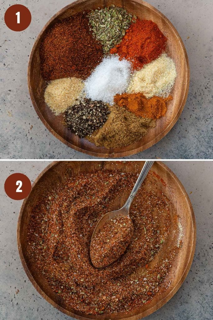 How to make taco spice blend.