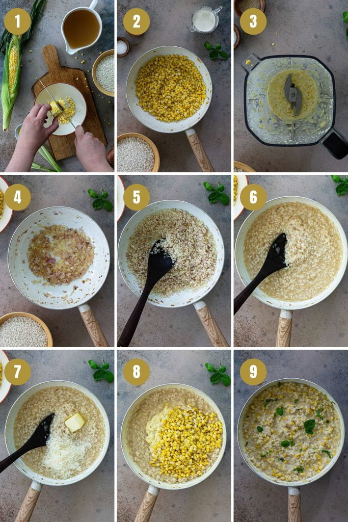 Step by step photos of the recipe.