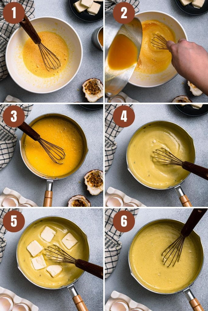 A collage of step by step photos on how to make this recipe.