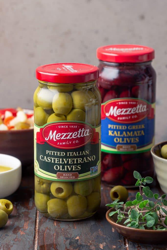 Mezzetta olives.