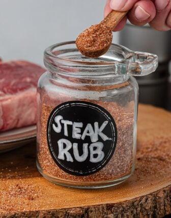 The BEST Steak Rub