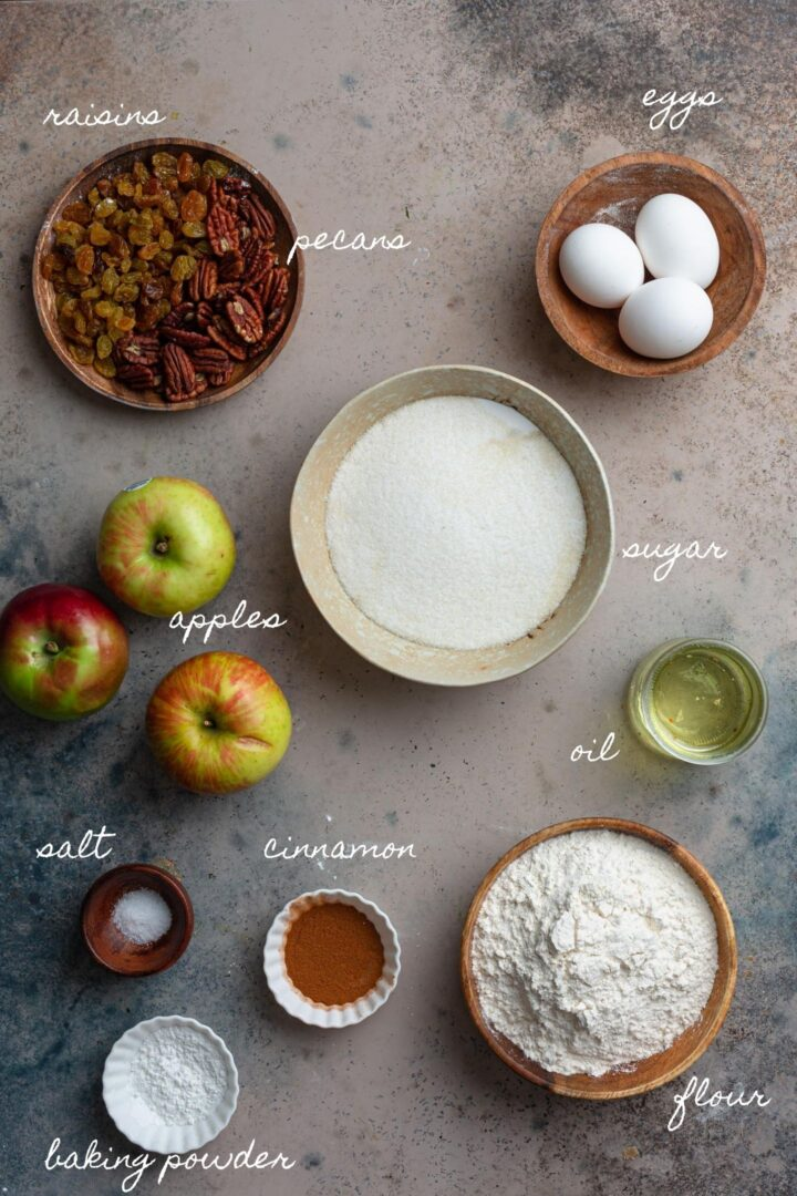A photo of the ingredients.
