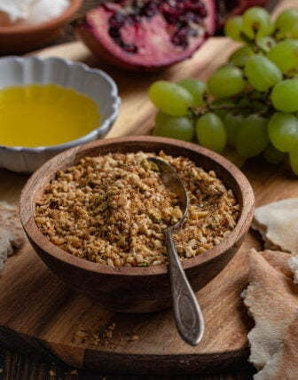 Dukkah (Egyptian Nut and Spice Mix)